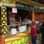 Der Stand von Royal Kebabhaus auf dem Tollwood Sommerfestival