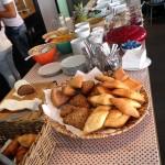 Frühstücksbuffet im BOLD Hotel