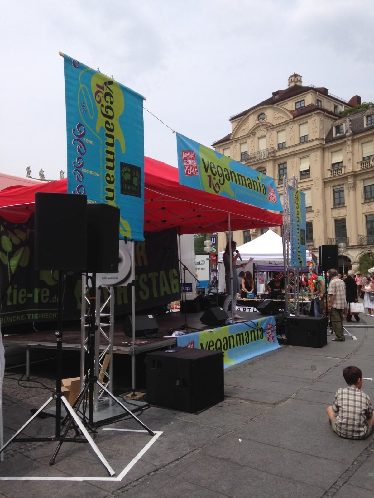 Zu Besuch auf der Veganmania 2014 in München