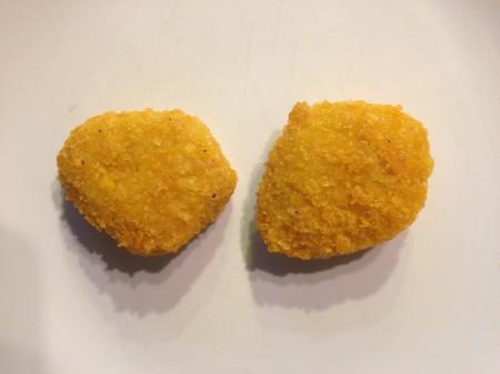 Nuggets nach 10 Minuten im Backofen
