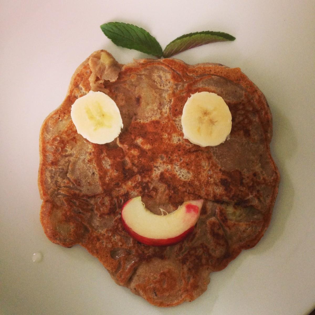 Ami-Style-Frühstück: Pancakes (vegan)