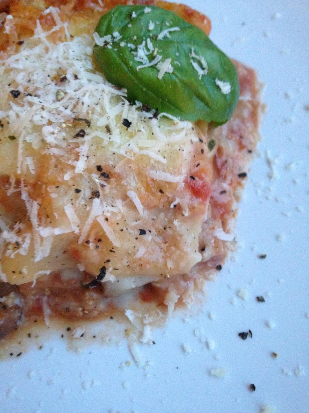 Vegetarische Lasagne – endlich ein Rezept gefunden, das auch wirklich schmeckt!