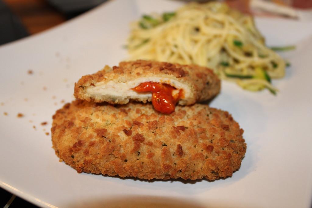 Tomaten-Mozzarella-Füllung