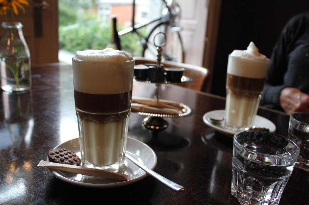 Toll aufgeschäumt: Latte Macchiatto mit Sojamilch