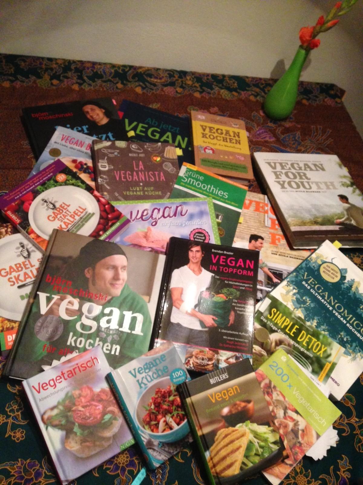 Bücher, aus denen ich mir Inspiration hole