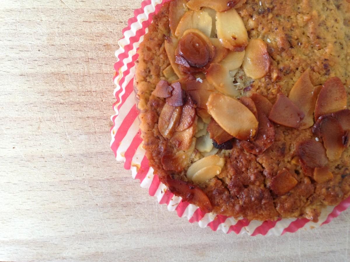 Leckere Zitronen-Nuss-Muffins (vegan)