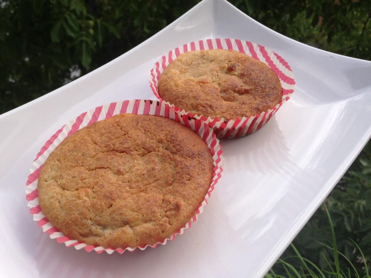 Bananen-Weizenkeim-Muffins (vegan)