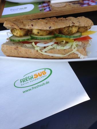 Sandwich mit Falafel bei FreshSub