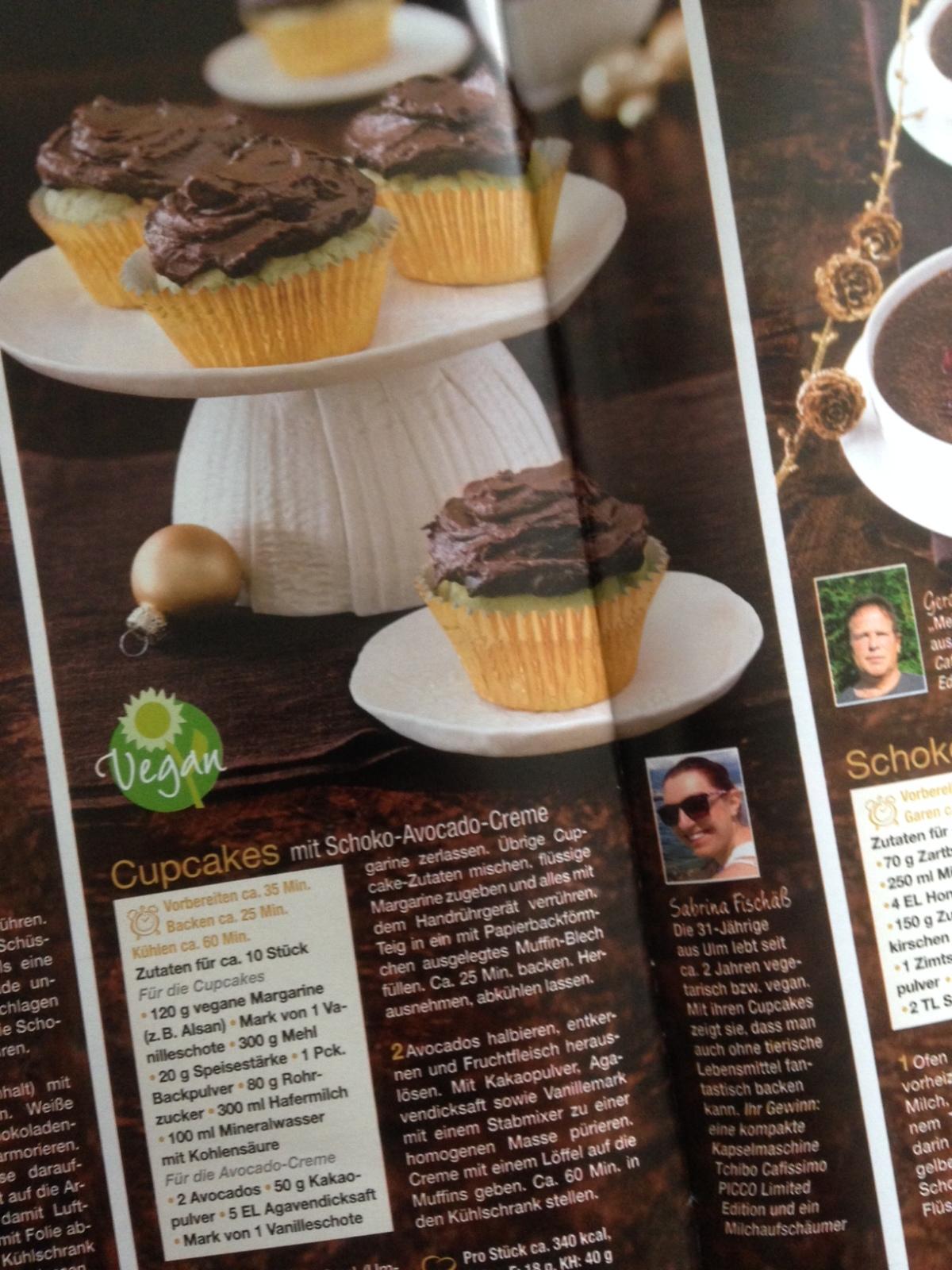 Meine Schokoküchlein im aktuellen Lisa! Kochen und Backen – Magazin