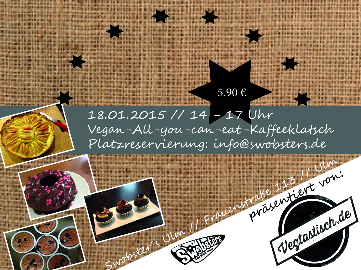 18.01.2015: Vegan-All-you-can-eat-Kaffeeklatsch