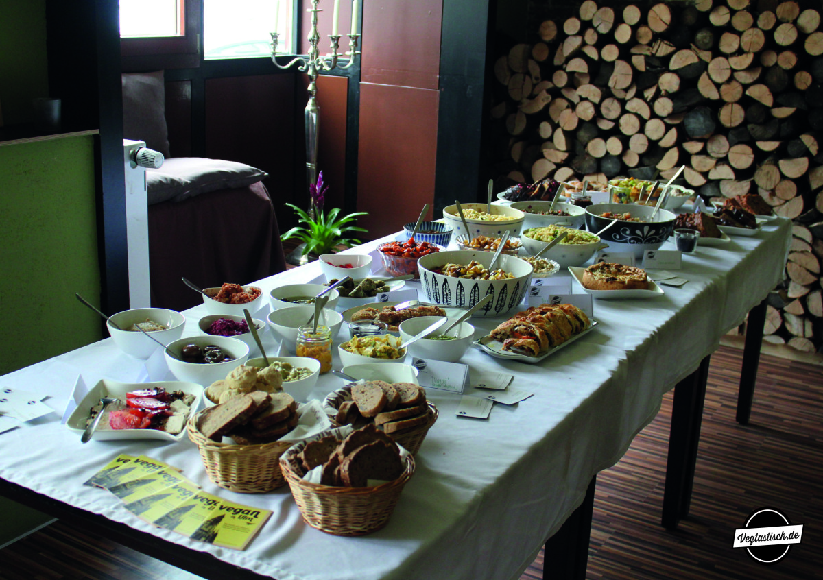 """Impressionen von meinem Vegan-Brunch bei der """"Villa MaJo"""" in Neu-Ulm"""
