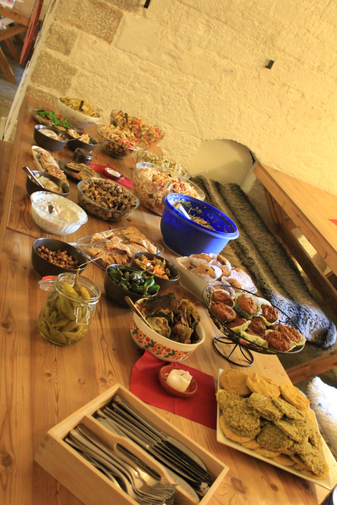 Supper Club_Gewölbe Buffet