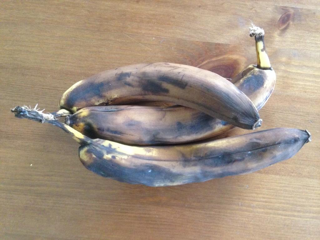 Überreife Bananen - zu schade für den Mülleimer
