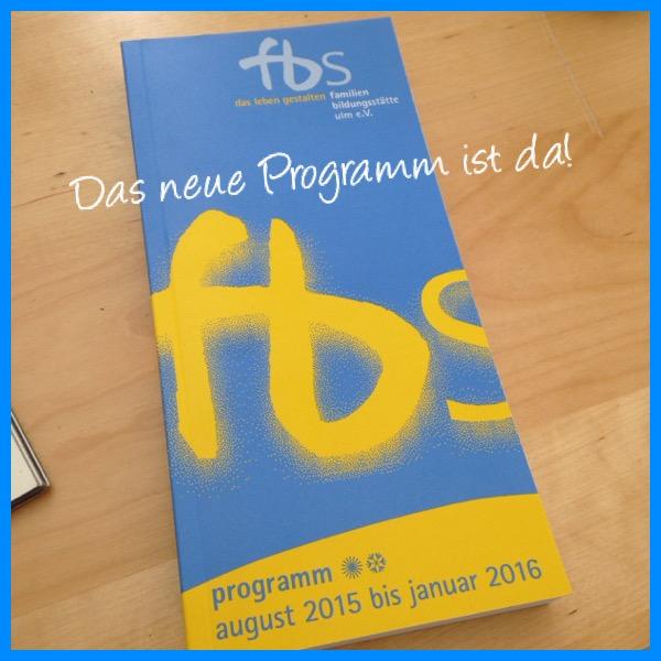 Das neue Programm der Familienbildungsstätte Ulm ist da!
