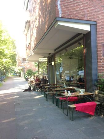 Café Johanna - Eingang