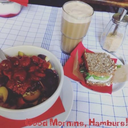 """Frühstück im """"Café Johanna"""""""