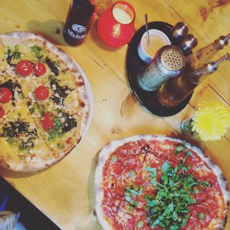 "Vegane Pizzen bei ""Pizza Bande"""