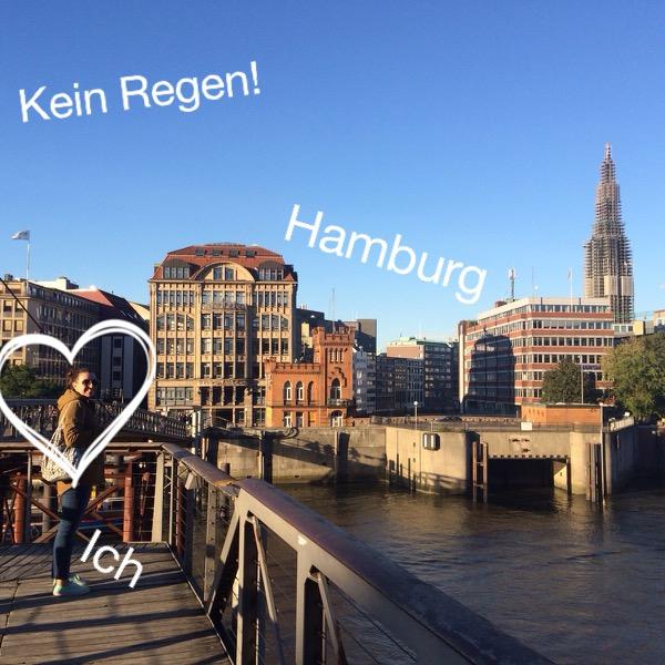 Hamburg - endlich mal bei Sonne!