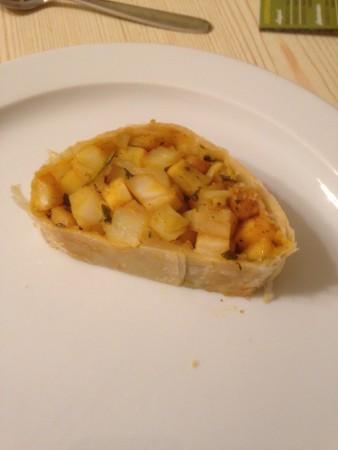 Kartoffel-Pastinaken-Strudel