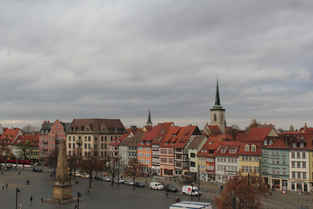 Erfurt – ich komme wieder, nicht nur einmal.