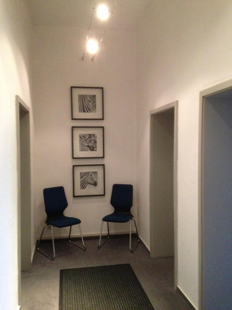 """Eingangsbereich """"Gästehaus am Spielbergtor"""""""