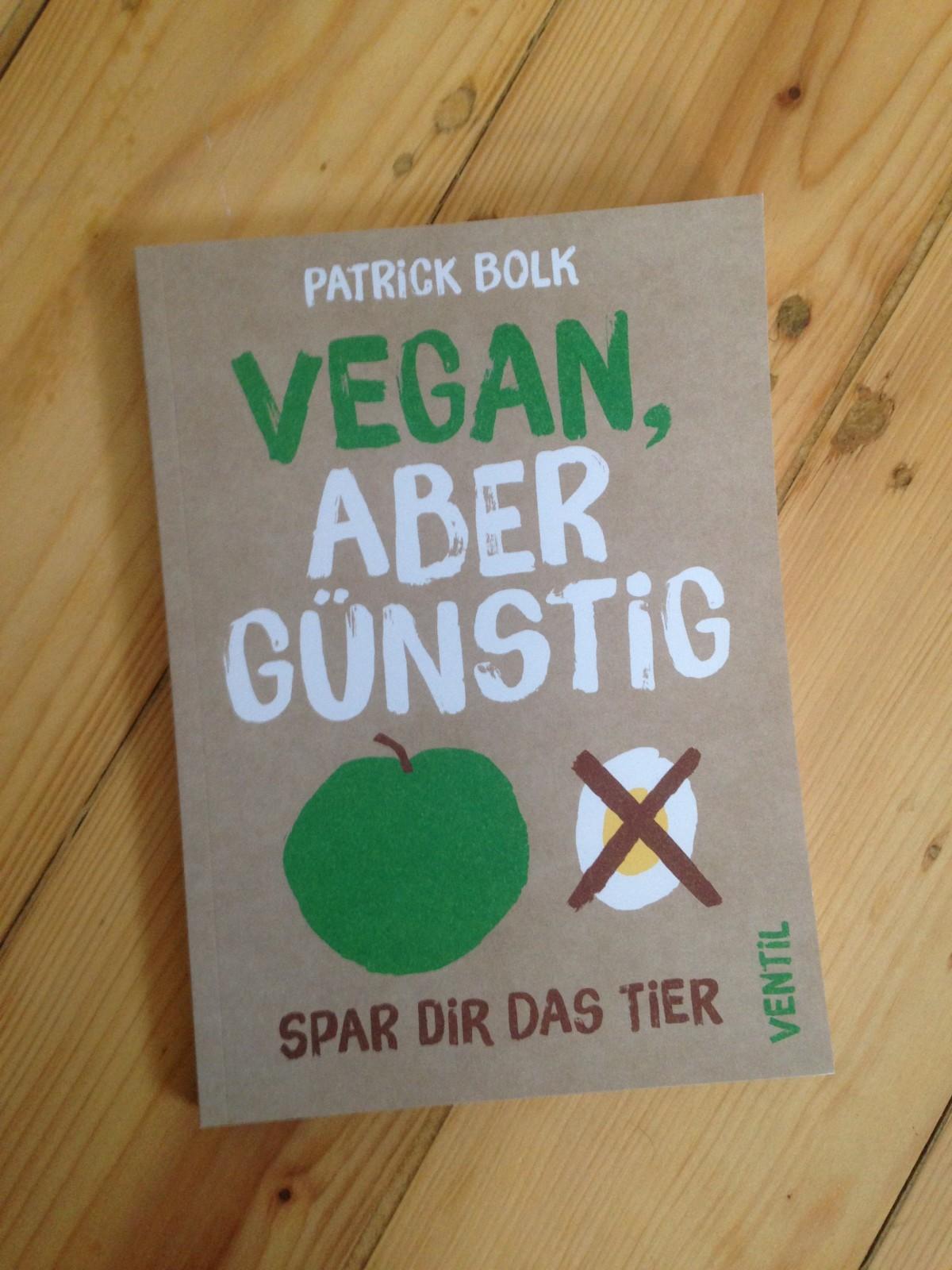 """Gewinnspiel: """"Vegan, aber günstig"""" von Patrick Bolk"""