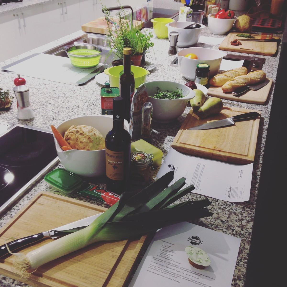 Kochkurs bei ABT TAVOLA in Ulm und warum ich ab und an auch vegetarische Kurse gebe