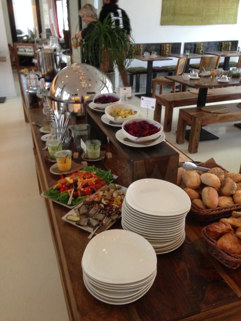 Das vegane Frühstücksbuffet