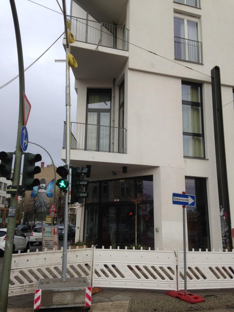 Das Hotel. Leider während unseres Besuchs mit kleiner Baustelle vor der Tür.