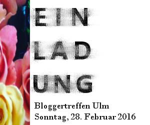 Einladung zum Bloggertreffen für Blogger rund um Ulm