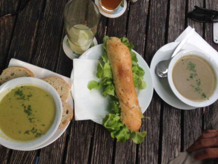 Suppen zur Vorspeise