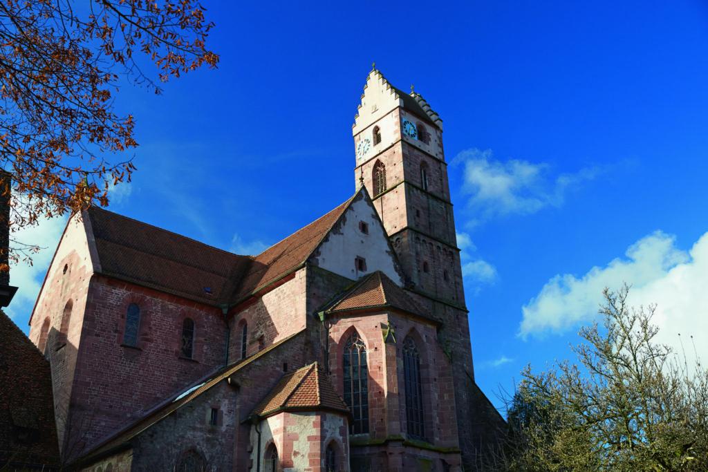 Kloster Alpirsbach - Klosterkirche, Quelle: Staatliche Schlösser und Gärten Baden-Württemberg