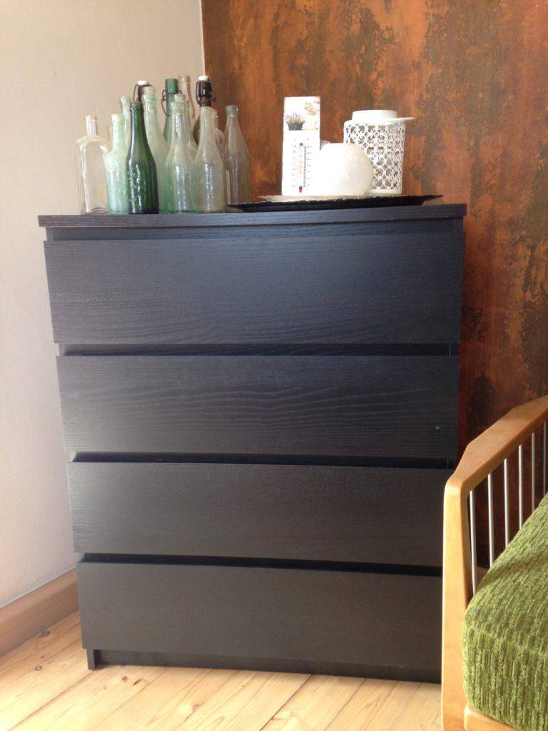 Seit über 3 Jahren eher nutzlos in meinem Haushalt: Eine Kommode von IKEA.