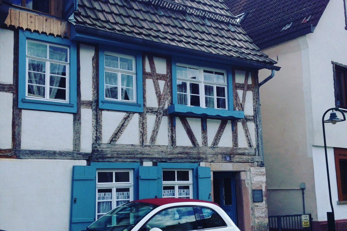 """Unser Ferienhaus das """"historische Gerberhaus"""" in der Gerbergasse in Alpirsbach"""