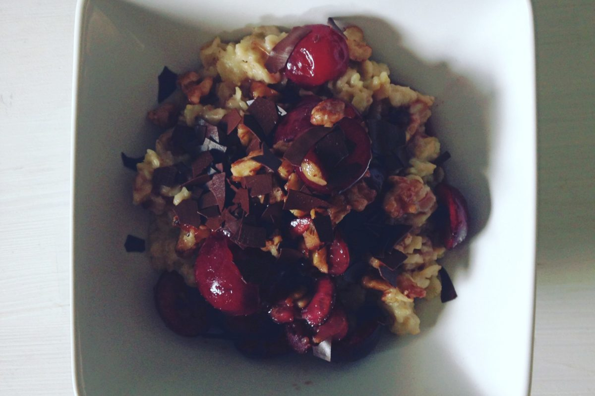 Schwarzwald-Style-Porridge