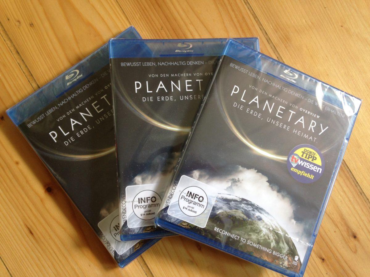 "Verlosung: 3 x Blue Ray Dokumentation ""Planetary"" zu gewinnen!"