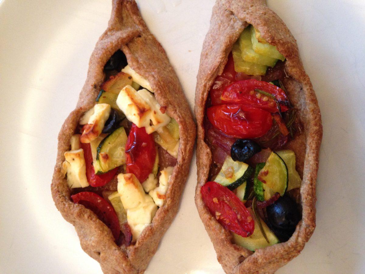 Rezept: Vegane Gemüseschiffchen