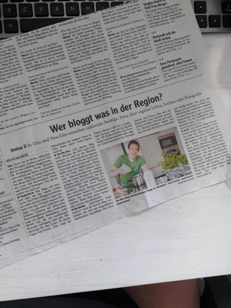 Neu-Ulmer Zeitung vom 25.08.16