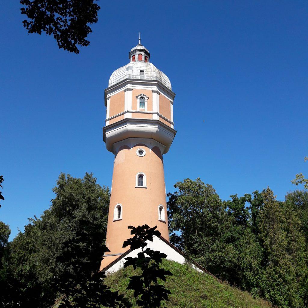 Der Wasserturm in Neu-Ulm