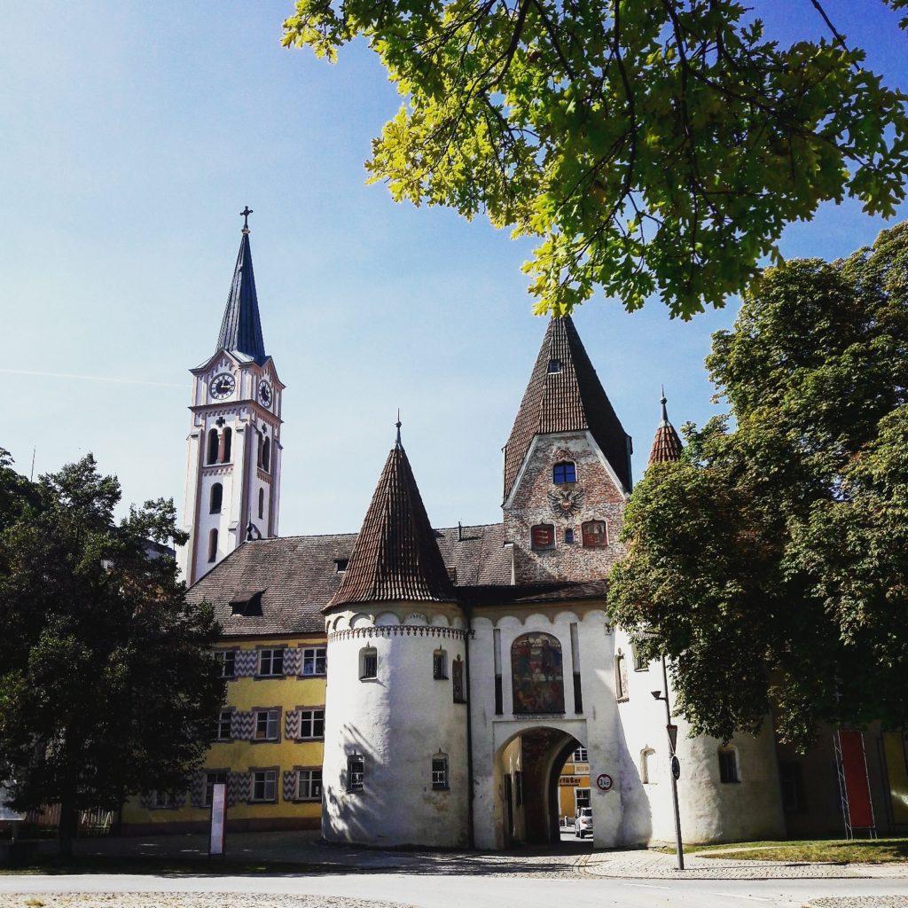 Oberes Stadttor in Weißenhorn