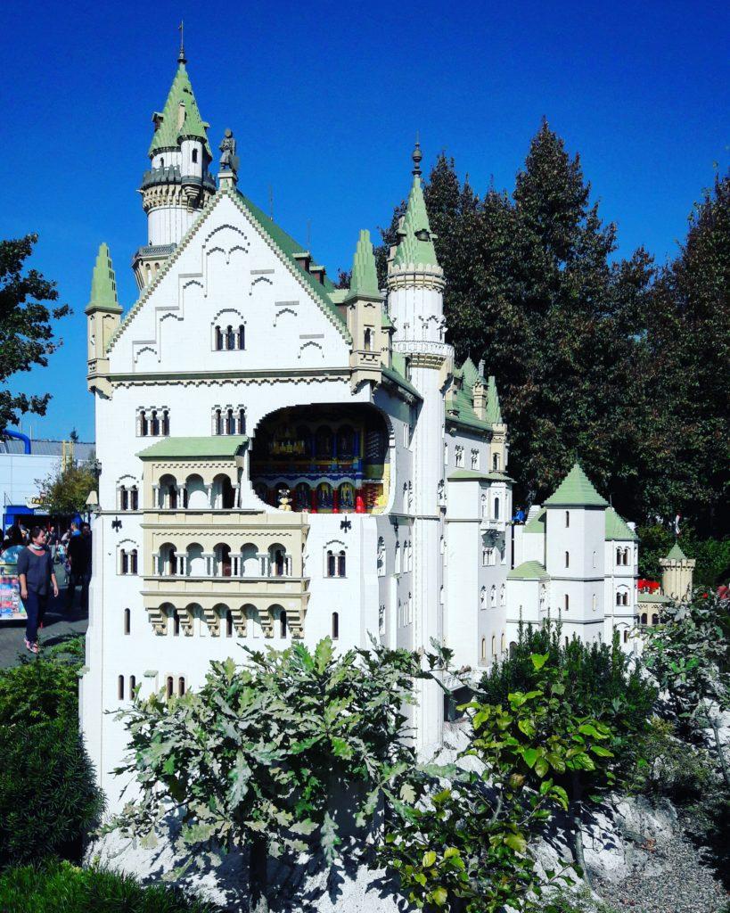Schloss Neuschwanstein im Legoland