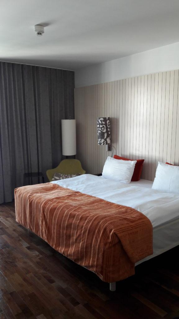Unser Doppelzimmer im Scandic Hotel am Potsdamer Platz Berlin