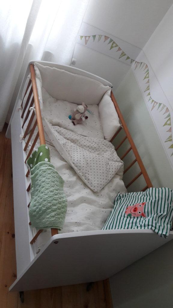 Kuschelig ohne Ende - Baby´s neuer Schlafplatz