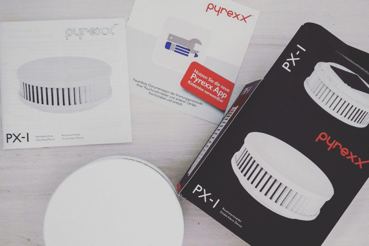 Der Rauchmelder pyrexx PX-I