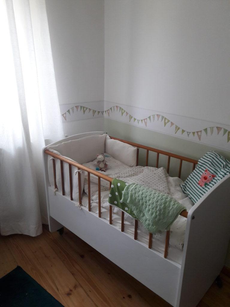 Die Schlafecke im Babyzimmer