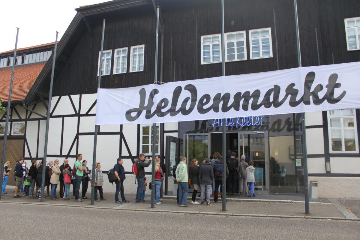 """Gewinnspiel: 2×2 Tickets zum """"Heldenmarkt"""" in Stuttgart am 5. und 6. November 2016"""