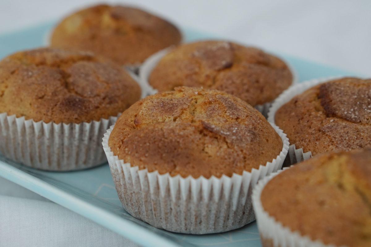 """Gastartikel: Rezept für Birnen-Chai-Muffins von """"gruenartig"""""""