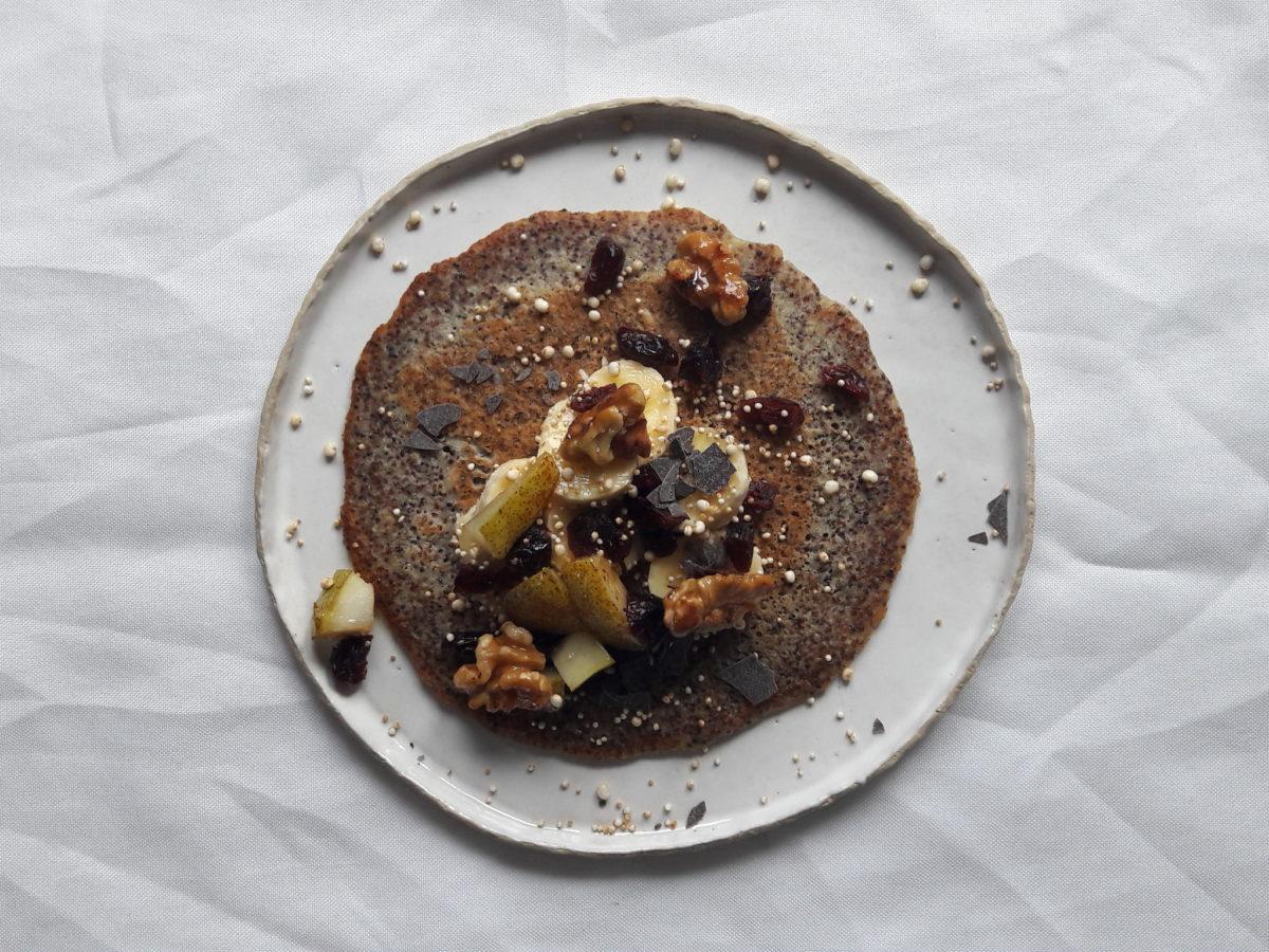 Canihua Pancakes – Frühstück mit Getreide aus den Anden