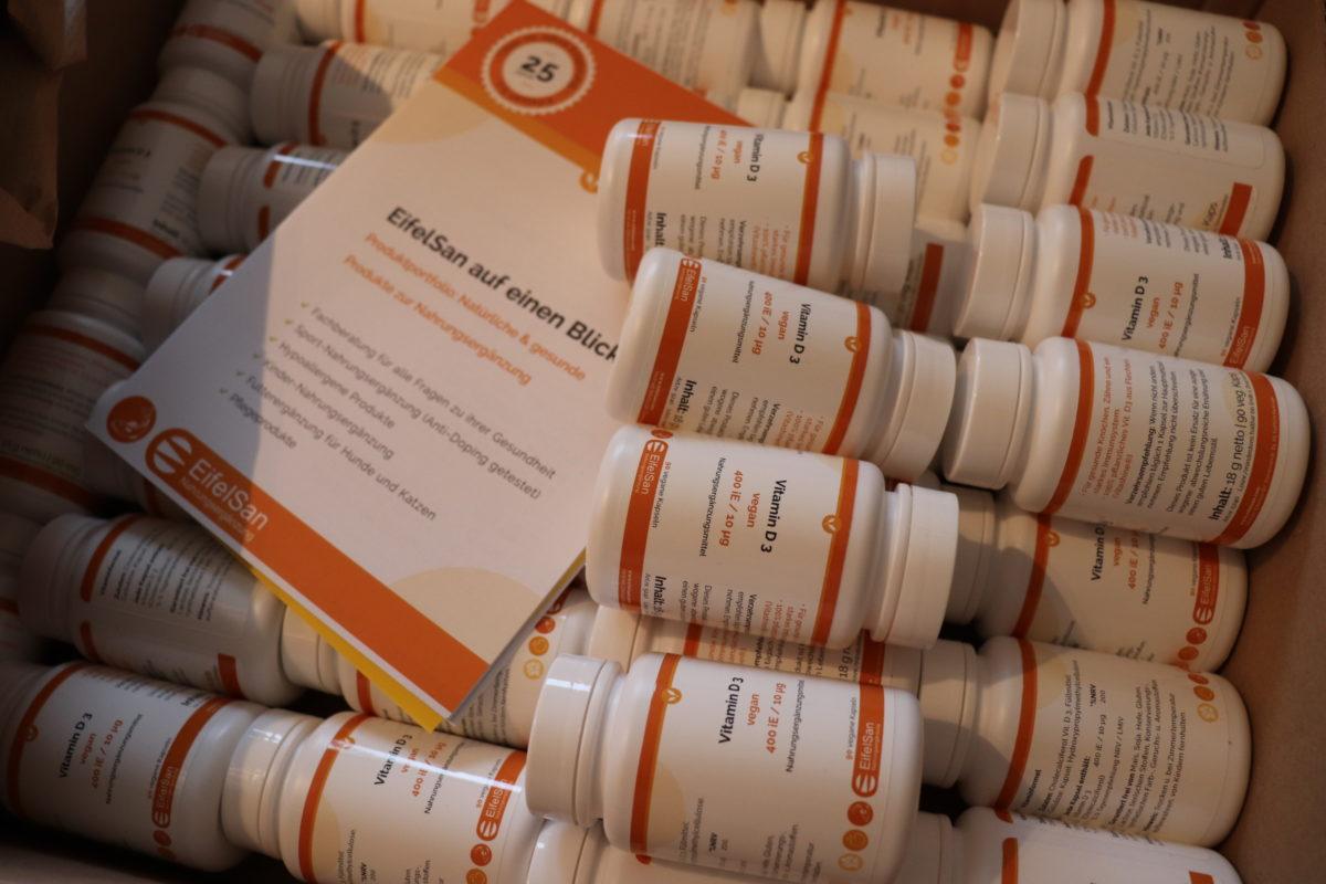 Sinnvolle Unterstützung in der dunkleren Jahreszeit: Vitamin D3 von EifelSan – Mach mit!