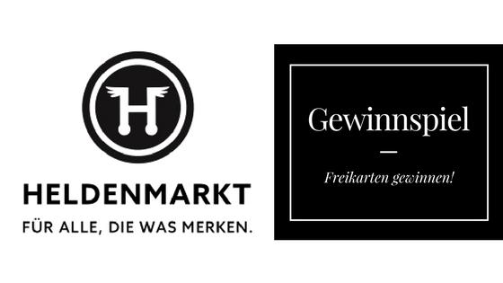 Gewinnspiel: Tickets zum Heldenmarkt Nürnberg gewinnen!